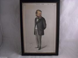 Vanity Fair Print of Mr. Edward Miall M.P. Vanity Fair July 29,1871