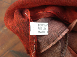 Attractive Crimson Red Pink Shimmery Material Fashion Scarf Made in China image 6