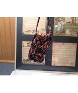 Vera Bradley Small Handbag Magnetic Button and Strap - $14.84