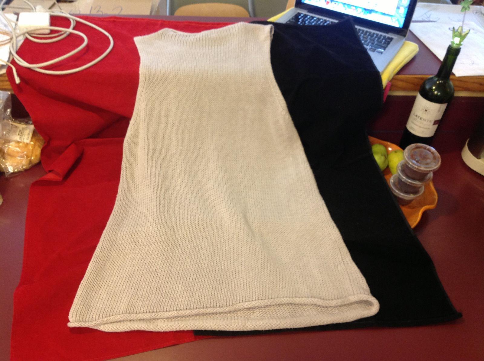 Venezia Jeans Clothing Womens Beige Knit  Sleeveless Vest Top size 18 20