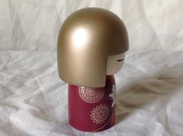 Satoko Sincerity Gold Hair Maroon Dress Flower Kimmi Maxi Doll Asian Style image 4