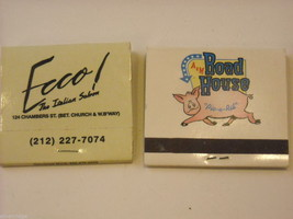Set of 10 Matchbooks from NYC and Saugerties, NY image 5