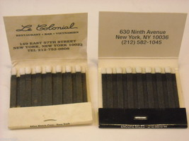 Set of 10 Matchbooks from NYC and Saugerties, NY image 4