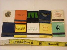 Set of 10 Matchbooks from NYC Restaurants image 2