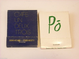 Set of 10 Matchbooks from NYC Restaurants image 3