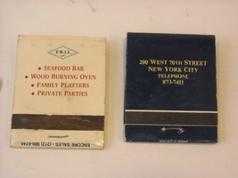 Set of 10 Matchbooks from NYC Restaurants image 5
