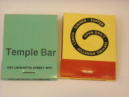 Set of 10 Matchbooks from NYC Restaurants image 7