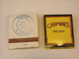 Set of 10 Matchbooks from NYC Restaurants image 8