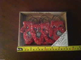 Set of 12 Red Knit Snow Covered Mitten Christmas Ornaments image 6