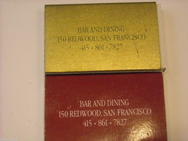 Set of 10 matchbooks from San Francisco image 4