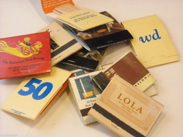 Set of 12 Toothpicks and Matchbooks from NYC Restaurants image 2