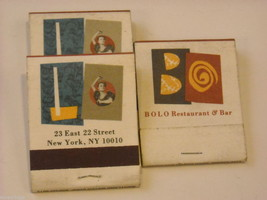 Set of 12 Toothpicks and Matchbooks from NYC Restaurants image 4