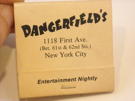 Set of 12 Toothpicks and Matchbooks from NYC Restaurants image 9