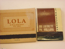 Set of 12 Toothpicks and Matchbooks from NYC Restaurants image 8