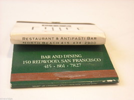 Set of 10 matchbooks or boxes from San Francisco Bay Area, Northern California image 7