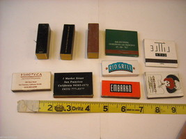 Set of 10 matchbooks or boxes from San Francisco Bay Area, Northern California image 2
