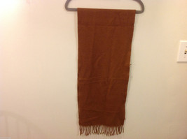 Scots Regal Brown Warm Soft Scarf made in Scotland image 4