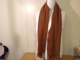 Scots Regal Brown Warm Soft Scarf made in Scotland image 2