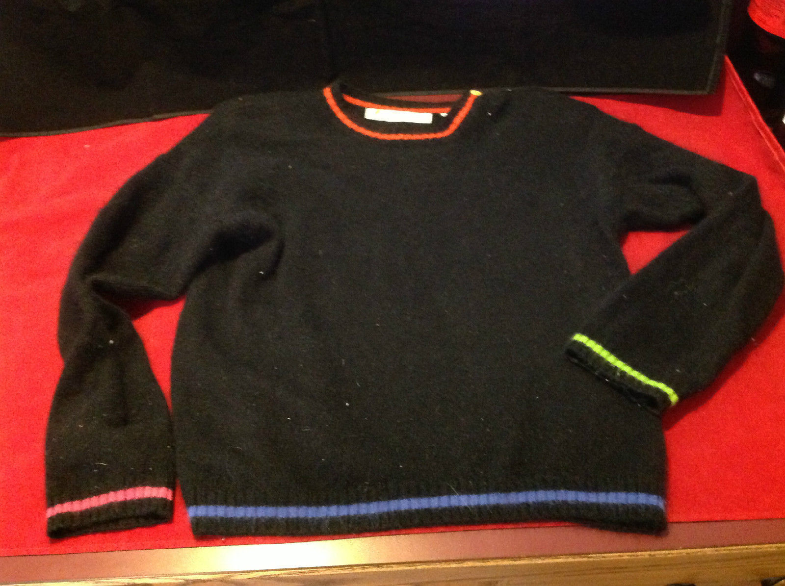 Very Pretty Chaus Ladies Black Sweater Size Medium