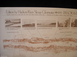 Set of 5 posters of the Hudson River image 6