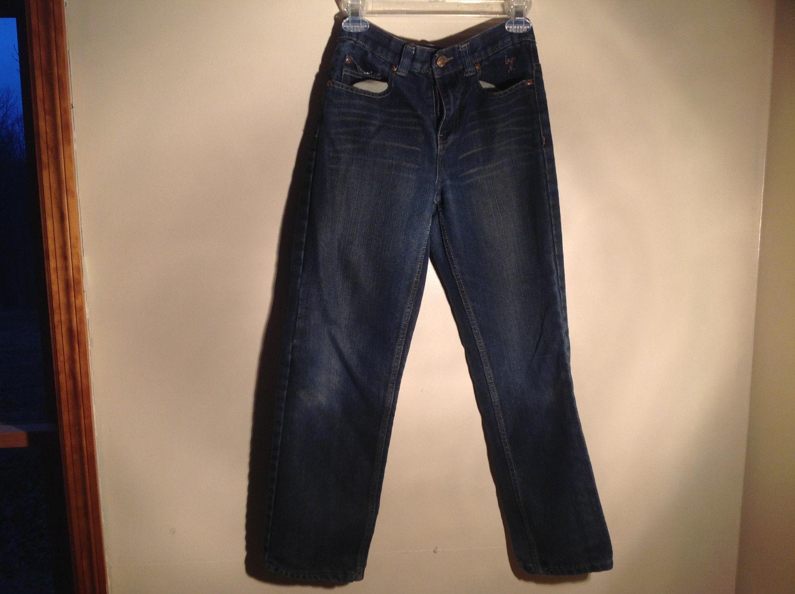 Very Nice US Polo Slim Straight Legs Blue Denim Jeans Size 14