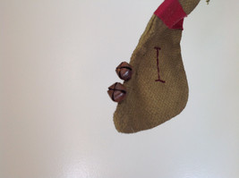 Seven Hanging Christmas Stocking Ornaments BELIEVE Garland image 9