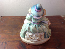 Shafford Ceramic Figurine Three Kids Three Geese Hand Painted in Japan image 4