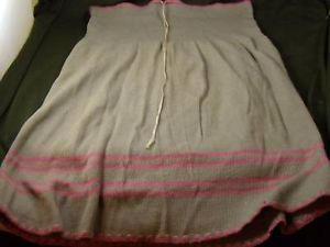 Vintage 1921 Indera Figurfit Knit Drawstring Skirt
