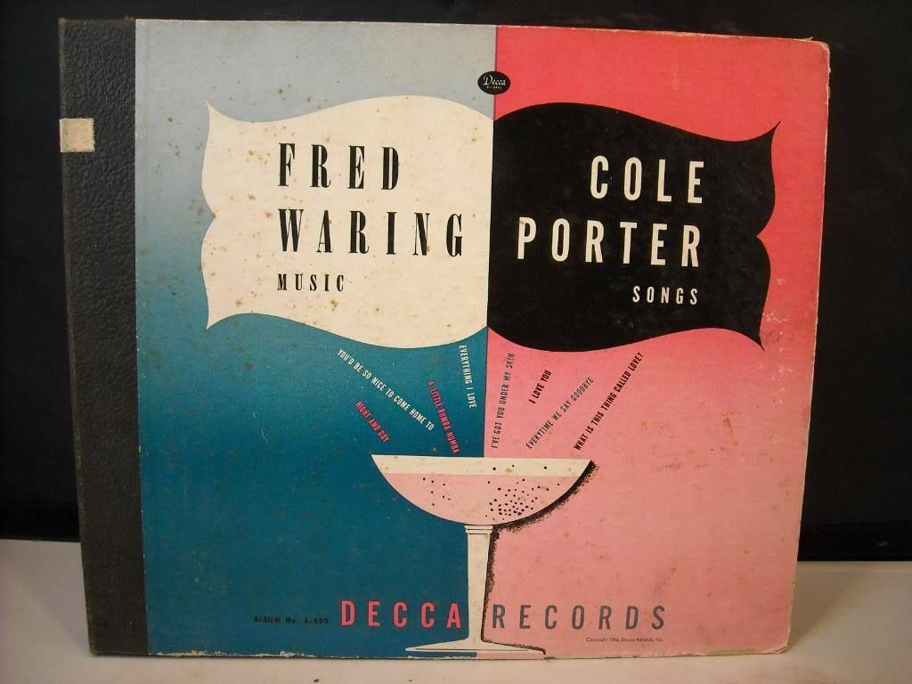 Vintage 1946 Album 4 Records Fred Waring Cole Porter