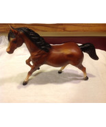 Vintage 1970s Breyer model horse brown mare with white face - $34.64