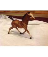 Vintage 1970s Breyer model horse brown colt with white face - $34.64