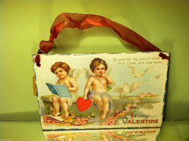 "Vintage ""Be Assured It's You or None that I Love...""  Valentine's Day Heart"