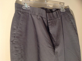 Axist Gray Four Pocket Dress Pants Clasp Zipper Closure Belt Loops Size 34 by 29 image 4