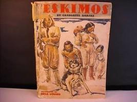 Vintage Children's Book: Eskimos  Barske Poughkeepsie NY history
