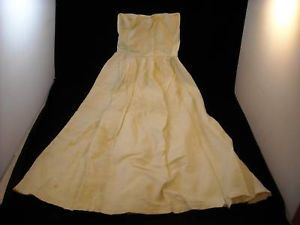 Vintage Child or Baby dress skirt  ivory color
