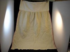 Vintage Cloth unfinished Apron without ties - $27.71