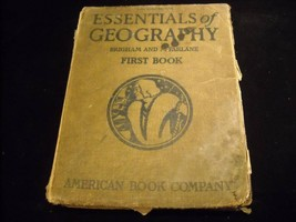 Vintage Essentials of Geography McFarlane American Book Company text