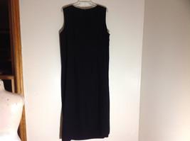 BFA Classics Sleeveless Black Full Length Dress Zipper at Back of Neck Size 18W image 6