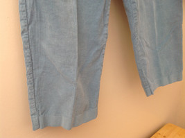 Baby Blue Alfred Dunner Blue Corduroy Elastic Waistband Pants Size 14P image 4