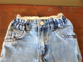 Baby Gap Infant Snap Legs Blue Jeans with Elastic Waist Size 9 to 12 Months image 2