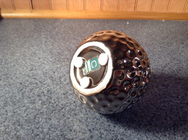 Silver Tone Nature Gourd Flower Holder Vase Ceramic 3 Textured Finish Metallic image 4
