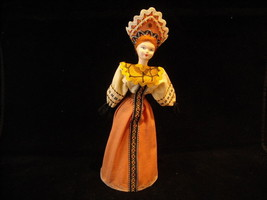 Vintage Hand made Russian Doll