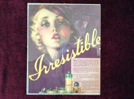 Vintage Irresistible Perfume Poster 8 Inches by 10 Inches