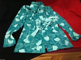 Vintage International Ladies Garment Workers Union Womens Pajamas Robe Pants Set
