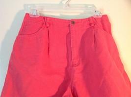 Size 10 Bright Pink Liz Claiborne Liz Sport 100 Percent Cotton Shorts image 2
