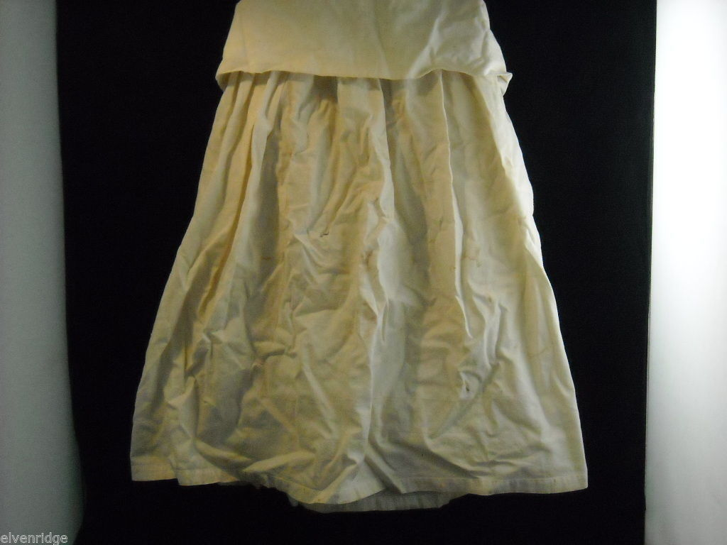 Vintage Linen Apron Underdress Child or Doll
