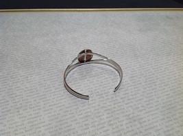 Silver Tone Geo Jewelry Bracelet  with Dark Spots picture jasper image 6