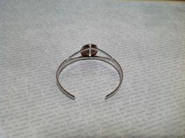 Silver Tone Geo Jewelry Bracelet  with Dark Spots picture jasper image 4