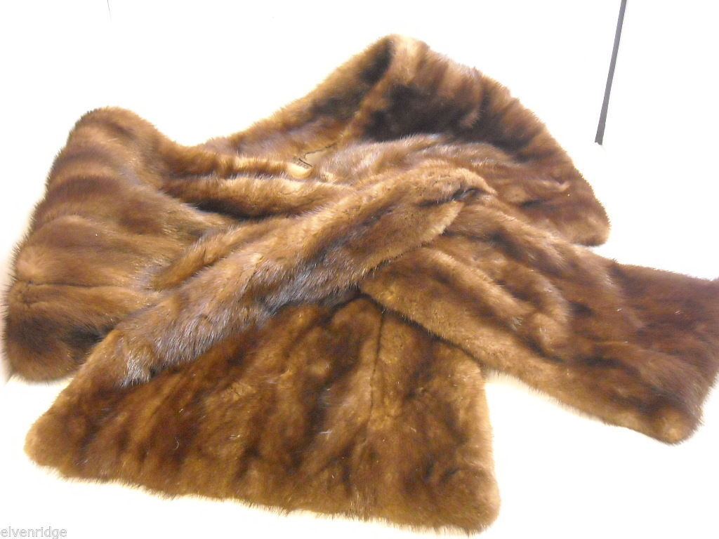 Vintage Mink Stole by Maas Brothers of Florida