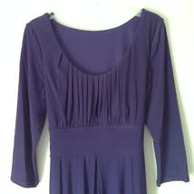 Simple Yet Elegant Three Quarter Length Purple Dress NEW with Tag Size 12 image 3